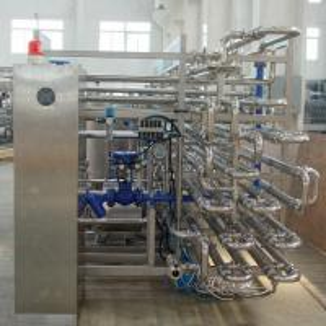 China PLC Control Dairy Processing Plant 2000LPH UHT Aseptic Tubular Sterilizer 1 Year Warranty on sale