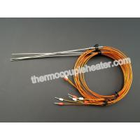 Quality Mineral insulated thermocouples Resistance Temperature Detector  for hot runner system wholesale