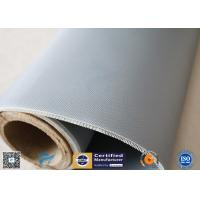 Quality Chemical Resistant Alkali Free Satin Weave 590g Silicone Coated Fiberglass Fabric wholesale