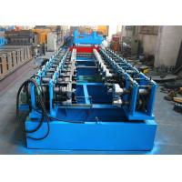 Quality Automatic Adjust Roller Shutter Door Roll Forming Machine , Door Panels Cold Roll Former wholesale