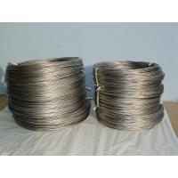 Cheap Anti Corrosion Titanium Wires , Polished / Pickled Titanium Round Wire for sale