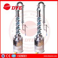 Quality Vodka Gin Whiskey Distillery Alcohol Distilling Equipment Customized wholesale