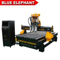 Quality China Three Spindles CNC Machine Ele1325-3s Low Noise CNC Router Price wholesale