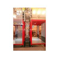 Quality Single / Double Car 2700kg Industrial Elevators with Mast Hot-dip Galvanized wholesale