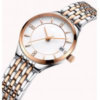 Quality Two Tone Plated Luxury Wrist Watch wholesale