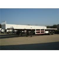 Quality liangshan manufacturer 2 or 3 Axles cargo carrier transport side wall cargo semi trail wholesale