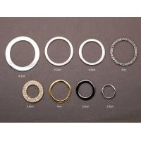 Quality O - Ring OEM Metal Zinc Alloy Lady Clothes Shoes Belt Buckles wholesale