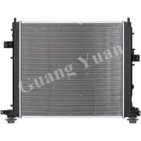 Cheap Custom Cadillac Cross Flow Aluminum Truck Radiators Water Cooled DPI 13351 13349 for sale
