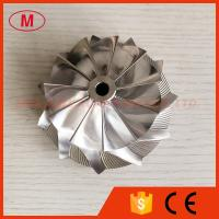 Quality T51 70.34/93.96mm 11+0 blades high performance turbo billet/milling/aluminum 2618 compressor wheel for racing wholesale