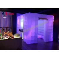 Quality Inflatable Wedding Decorations Inflatable Photo Booth LED Event Lighting wholesale