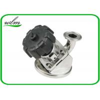 Quality Aseptic Tri Clamp Tank Bottom Valve Sanitary With Manual Turning Knob Operation wholesale
