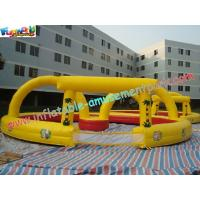 Quality PVC Inflatable Sports Games Race Track , Inflatable Car Race Track wholesale