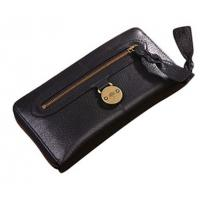 China Black classic genuine leather wallets on sale