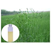Quality Omega 3 ALA Natural Flaxseed Oil 45.0% - 60.0% GC Test For Cardiovascular Diseases wholesale