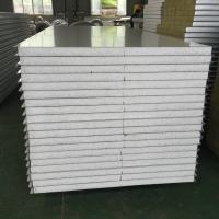Cheap Structural Insulated Sandwich Panels , Heat Resistant Insulated Cladding Panels for sale