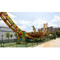 Quality Saucer Disco Flying UFO Rides , Roller Coaster Thrill Rides 25 * 10 Meter wholesale