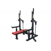 Quality Multi Function Weight Bench Press Squat Rack For Gym Trainer Fitness wholesale