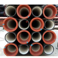 China ISO2531 di ductile iron pipe k9 weight on sale