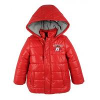 China Fashion Girls Warm Coat With Hood Boutique Childrens Winter Clothing on sale