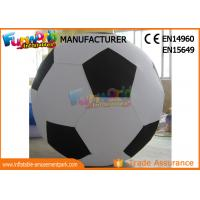 Quality Durable Advertising Inflatables Helium Soccer Ball For People ROHS EN71 wholesale