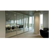 China Movable Partition Walls Aluminium Glass Office Partition For Conference Center on sale
