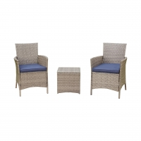 Buy cheap Waterproof Lounge Seater Bistro Table And Chairs Set Wicker Sofa Sets from wholesalers