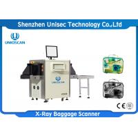 Quality x ray luggage scanner Security Baggage Scanner used in hotel , bank wholesale