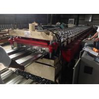 Quality PLC Controlled Automatic Roll Former , Metal Floor Deck Roll Forming Machine wholesale
