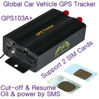 Quality New TK103B Car Vehicle GPS GPRS Tracker W/ Cut-off and Resume Oil & Power remotely by SMS wholesale