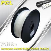 Quality PCL Low Temperature 3D Filament,1.75 /3.0mm ,Widely Used In Food And Medical Fields. wholesale