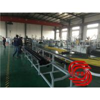 Quality HDPE Pipe Extrusion Line / Extruder Machine Vacuum Forming With 40mm-110mm Dia wholesale