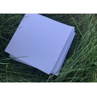 China Rigid White House Insulation Foam Board , Photo Mounting Hard Foam Sheets on sale