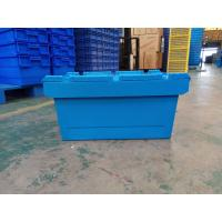 Quality Larger Logo Printing Stack Nest Plastic Attached Lid Containers wholesale
