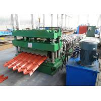 Buy cheap Galvanized Steel Roof Tile Roll Forming Machine With Improved 3D Cut from wholesalers