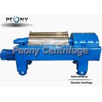 Quality Waste Water Decanter Centrifuges For Steel Factory Sludge Dewatering wholesale