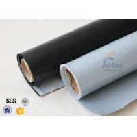 Quality 530g E-Glass Silicone Coated Fiberglass Cloth For Electrical Insulation Cover wholesale