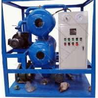 China High Efficiency Two Stage Vacuum Transformer Oil Purifier on sale