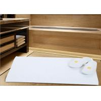 Quality White Color Modern Hotel Bath Mats For Bathroom Area Microfiber Material wholesale