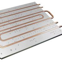 Quality Cold Plate Copper Tube Water Cooled Heat Sink Aluminum Heatsink Extrusions wholesale