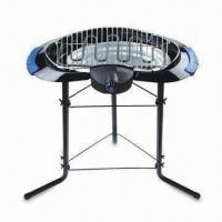 China Smoke-free Electric Barbecue Grill with Safety Micro Switch and Adjustable Cooking Temperature on sale