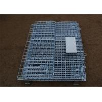 Cheap Stackable Steel Galvanized Metal Wire Mesh Container For Storage for sale