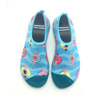 Quality Adult Aerobics Aqua Socks Water Skin Shoes Unisex Stretchy Material 12months Warranty wholesale