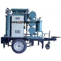 Quality ZJL Multi-Function Transformer Oil Regeneration Plant with Trailer wholesale