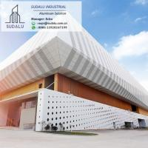 Quality SUDALU Customized Exterior Aluminium Wall Cladding Panels Building Facade Decorative Panel wholesale