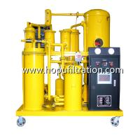 Cheap PLC Mobile Lube Oil Filtration Machine/ Hydraulic Oil Purifier / Thermal Oil Purification Hydraulic Oil Filter Machine for sale