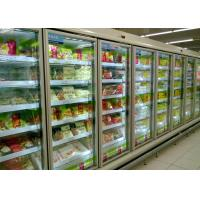 Buy cheap Ice Cream Glass Door Multideck Display Fridge Freezer With Remote Bitzer Compressor from wholesalers