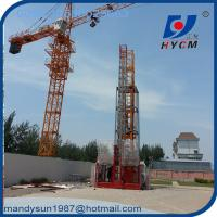 Quality 2ton Construction Hoist with Rack and Pinion and Wire Rope for Building wholesale