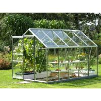 Quality 6mm Clear toughened greenhouse glass panel for plant , flat tempered glass wholesale