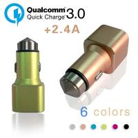 Quality 5V 3.4A Smart  2 Port Universal USB Car Charger  Short Circuit Protection wholesale