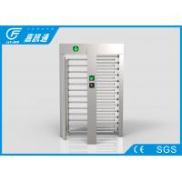China Smart Card Reader Pedestrian Gate Access Control , Scenic Areas Full Body Turnstile on sale